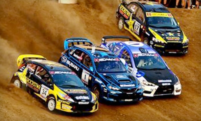 DirtFish Rally School - Snoqualmie Valley: One Admission to the Global RallyCross Championship at DirtFish Rally School in Snoqualmie. Two Options Available.
