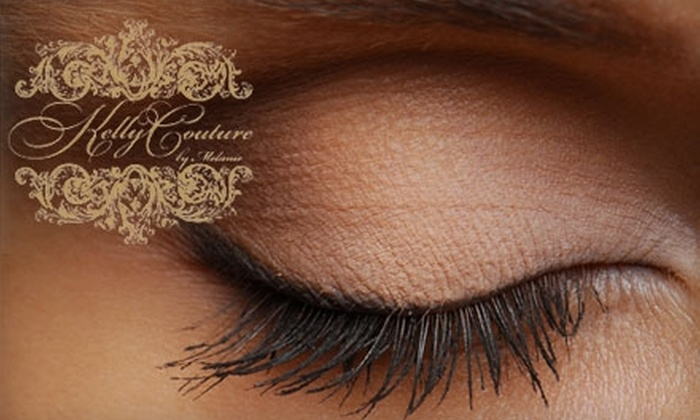 Kelly Couture by Melanie - Duluth: $25 for Custom Eyelash Extensions or Makeup Application at Kelly Couture by Melanie (Up to $60 Value)