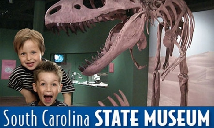 South Carolina State Museum Foundation - The Congaree Vista: $7 for Two General Admission Tickets ($14 Value) or $30 for a One-Year Family Membership ($60 Value) at the South Carolina State Museum. Choose Between Two Options.