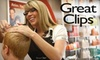 Great Clips - Multiple Locations: $6 for a Haircut at Great Clips (Up To a $15 Value). Choose from Five Locations.