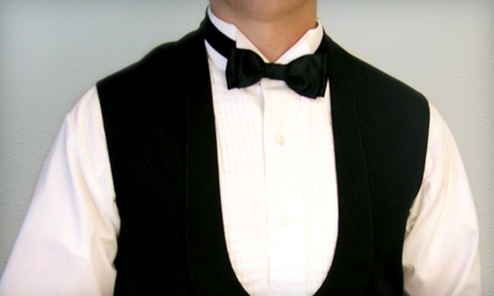 Tres Chic Boutique - Wabash - Goodrich: $49 for a Basic Tuxedo Rental at Tres Chic Boutique ($110 Value)