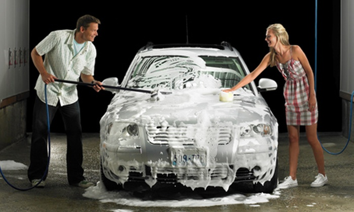 The Wave Carwash - Multiple Locations: $10 for $20 Worth of Car-Washing Services at The Wave Carwash