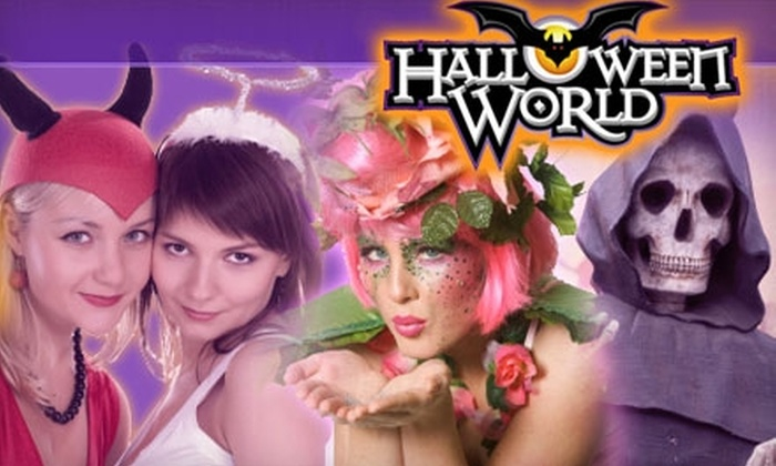 Halloween World - Multiple Locations: $10 for $20 Worth of Halloween Costumes, Decor, and Accessories at Halloween World