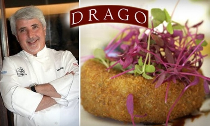 Drago Ristorante  - Mid-City: $30 for $60 Worth of Seasonal Italian Cuisine and Drinks at Drago Ristorante