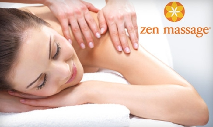 Zen Massage  - Multiple Locations: $25 for a One-Hour Swedish Massage at Zen Massage