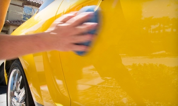 Almost New Mobile Car Wash - Nashville-Davidson metropolitan government (balance): $35 for a Mobile Mini Detail Package from Almost New Mobile Car Wash (Up to $75 Value)