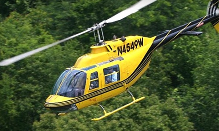 Scenic Helicopter Tours - Sevierville: $18 for a Douglas Lake Flight (Up to $36.13 Value) or $87 for a Wears Valley Flight (Up to $173.01 Value) at Scenic Helicopter Tours in Sevierville