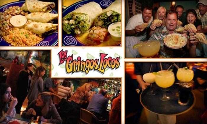 Los Gringos Locos - La Canada Flintridge: $10 for $25 Worth of Mexican Cuisine and Drinks at Los Gringos Locos