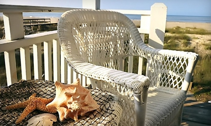 $1,700 for a One-Week Beach Home Rental in Pawleys Island from James W. Smith Real Estate ($3,405 Value). 12 Weeks Available.
