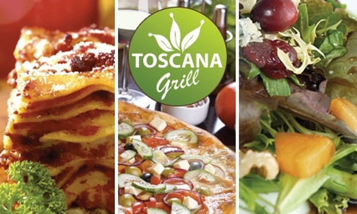 Toscana Grill - Clarendon - Courthouse: $15 for $30 Worth of Eco-Friendly Italian Fare at Toscana Grill in Arlington