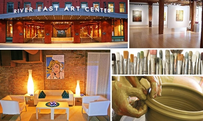 River East Art Center - Near North Side: $25 for $50 Worth of Art Classes at River East Art Center
