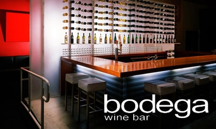 Bodega Wine Bar - Multiple Locations: $10 for $22 Worth of Wine and Comfort Food at Bodega Wine Bar. Choose One of Three Locations.
