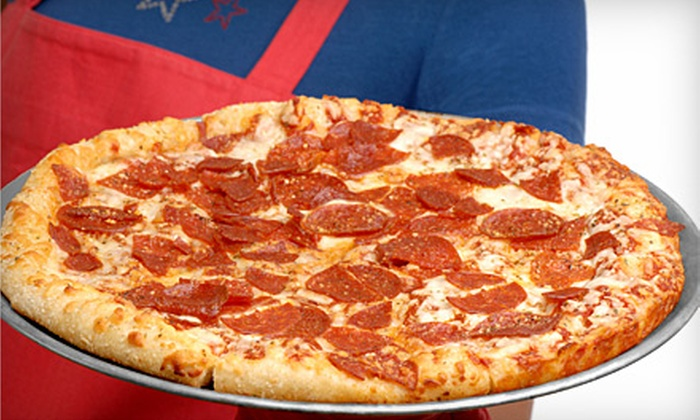 Sir Pizza - Multiple Locations: $5 for $10 Worth of Pizza and Drinks at Sir Pizza