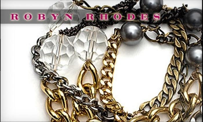 Robyn Rhodes: $25 for $50 Worth of Jewelry by Robyn Rhodes