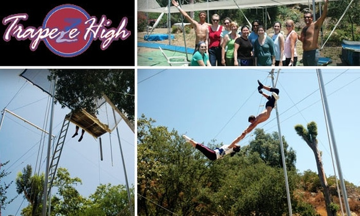 Trapeze High - North Ridge: Fly Like a Acrobat with a $25 Trapeze Class at Trapeze High