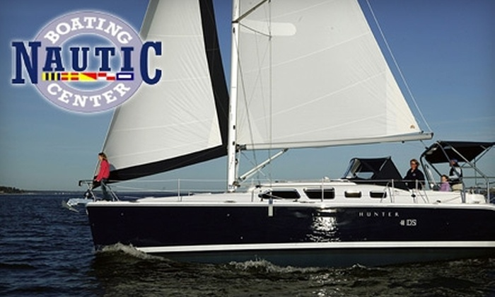 Nautic Boating Center - Kemah: $249 for a Three-Hour Luxury Sail for Six from Nautic Boating Center