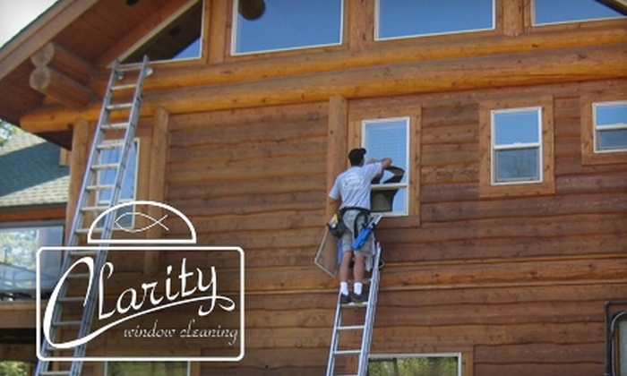 Clarity Cleaning - Spokane / Coeur d'Alene: $30 for a Residential Window Cleaning of Up to 20 Window Panes from Clarity Cleaning ($75 Value)