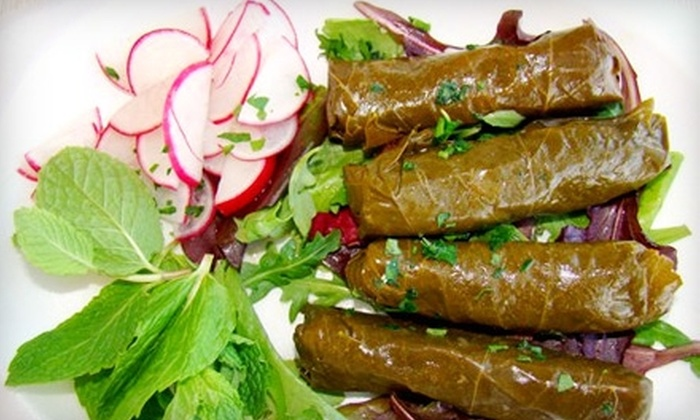 Green Olive Grill - La Sierra: $6 for $12 Worth of Mediterranean Fare at Green Olive Grill in Riverside