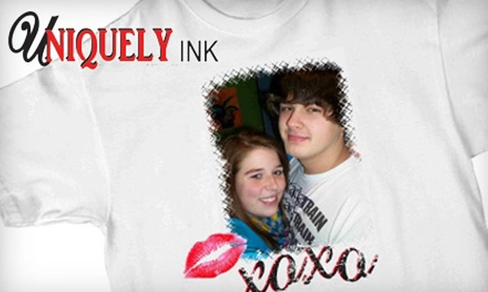 Uniquely Ink - Twain: $10 for $20 Worth of Custom T-shirts and More at Uniquely Ink