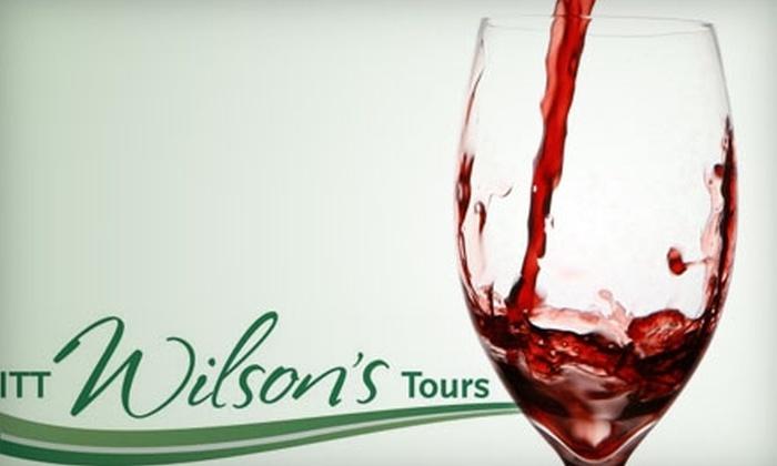 ITT Wilson's Tours - Victoria: $75 for a Wine Country Safari from ITT Wilson's Tours ($155 Value)