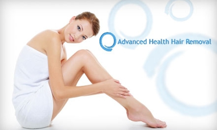 Advanced Health Hair Removal - Hillcrest: $99 for Three Laser Hair-Removal Treatments at Little Rock Laser Hair Removal Center