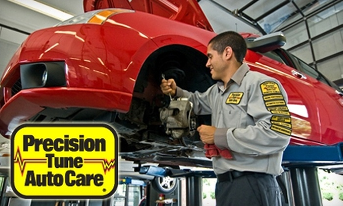 Precision Tune Auto Care - Multiple Locations: $34 for Oil Change, Tire Rotation, Wiper-Blade Replacement, Battery & Charging System Check, and Brake Inspection at Precision Tune Auto Care Baltimore