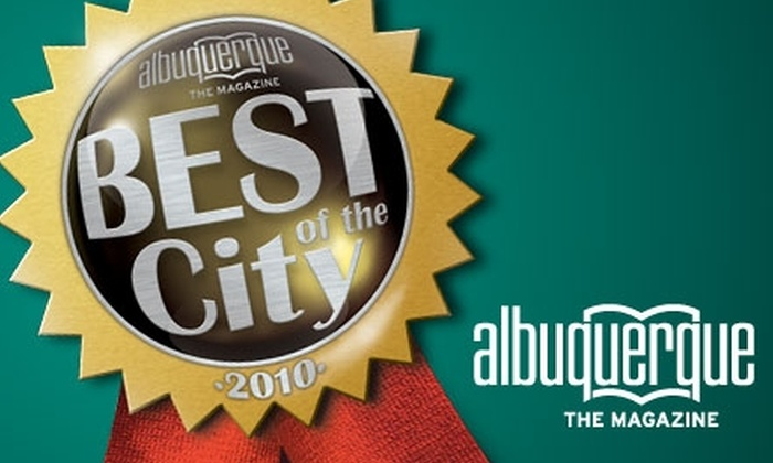 "<i>Albuquerque The Magazine</i> - Isleta Pueblo: $20 for One Ticket to the ""Albuquerque The Magazine"" Best of the City 2010 Event on Dec. 1 at the Hard Rock Hotel & Casino ($40 Value)"