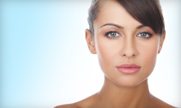 Vivia Center for Cosmetic Therapy - Multiple Locations: Cosmetic Laser Services at Vivia Center for Cosmetic Therapy. Three Options Available.