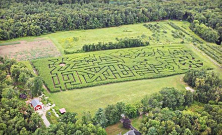 2 Entrance Passes to Corn Maze (up to an $18 value) - Schartner Farms in Bolton