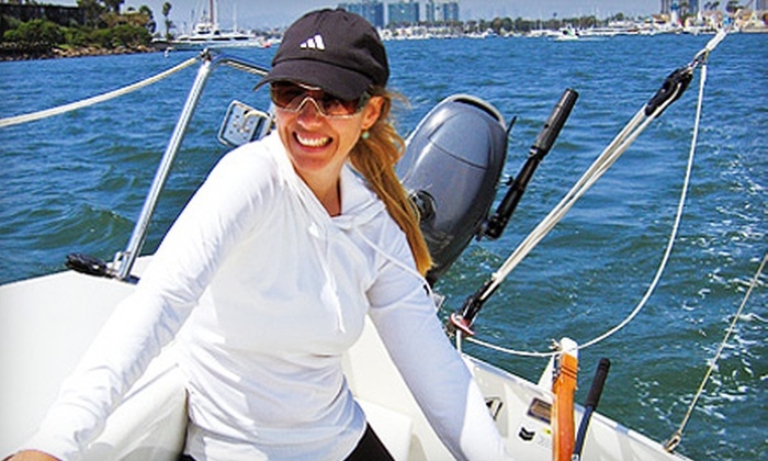 Marina Sailing - La Playa: Introductory Sail or Two Basic Sailing Lessons from Marina Sailing (Up to 53% Off)