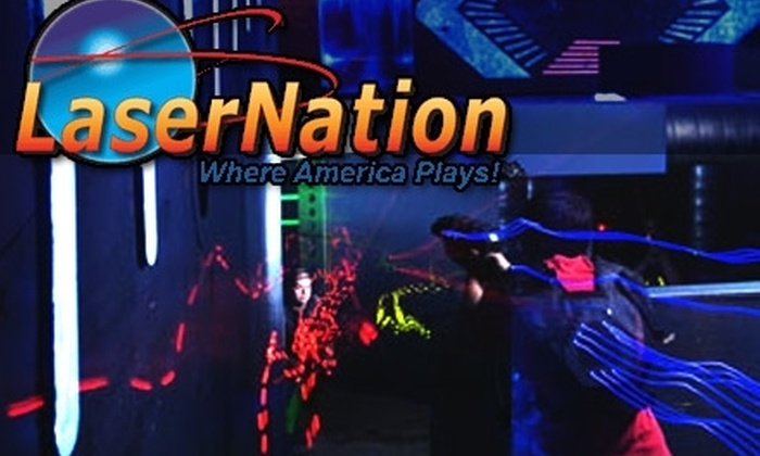 LaserNation - Multiple Locations: $15 for Four Rounds of Laser Tag at LaserNation or Ultrazone