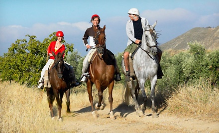 Guided Horseback Trail Ride for 2 (a $150 value) - Green Acres Ranch in Temecula