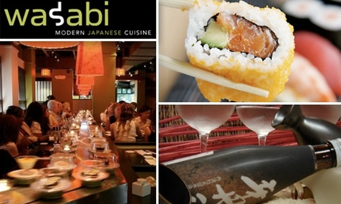Wasabi Sushi - Dupont Circle: $15 for $30 Worth of Authentic Rolls and Thirst Quenchers at Wasabi Sushi