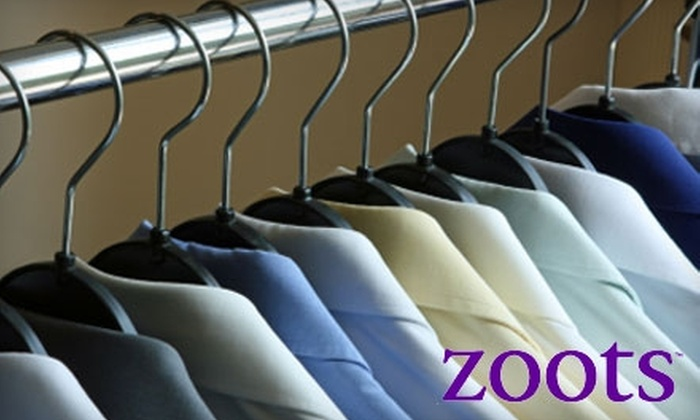 Zoots Dry Cleaning - Warwick: Dry Cleaning Services at Zoots Dry Cleaning. Choose from Four Options.