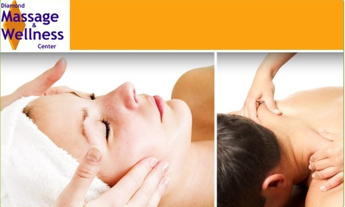 Diamond Massage & Wellness - Cow Hollow: $39 for Choice of Two Massages ($78 or $90 Value)