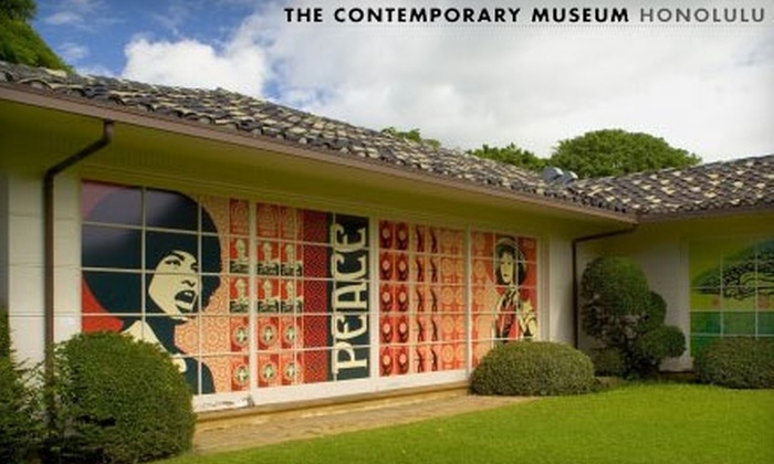 The Contemporary Museum, Honolulu - Makiki - Lower Punchbowl - Tantalu: $19 for Two Tickets to The Contemporary Museum, Honolulu and a $22 Gift Certificate to the Café (Up to $38 Value)