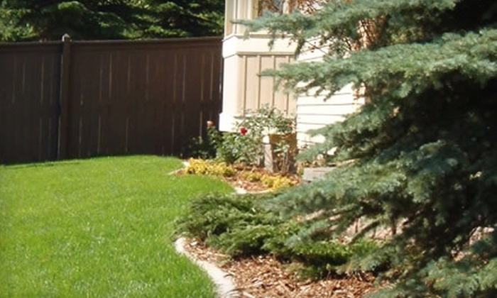 ULS Maintenance & Landscaping - Calgary: $38 for Landscaping Aeration ($75 Value) or Tree and Shrub Health-Care Combo ($135 Value) from ULS Maintenance & Landscaping. Choose Between Two Options.