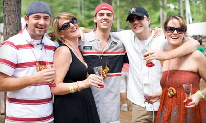 Beer, Bourbon & BBQ Festival - Atlantic Station: $69 for a VIP Outing for Two to Beer, Bourbon & BBQ Festival on March 3 ($140 Value)