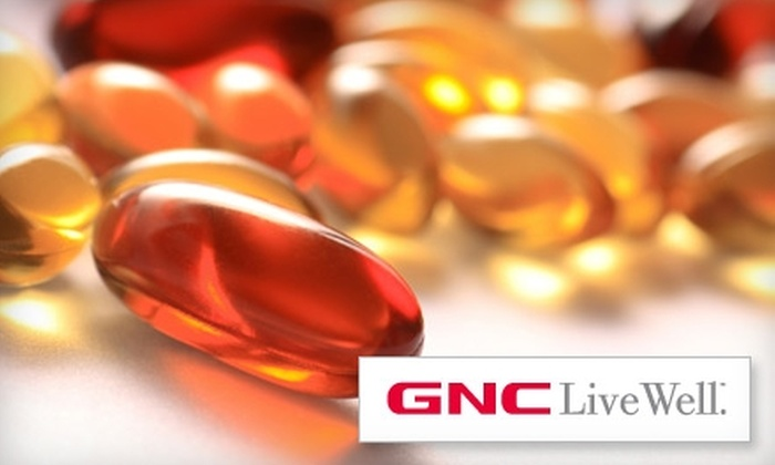 GNC - Multiple Locations: $20 for $40 Worth of Vitamins and Supplements at GNC. Choose from Six Locations.