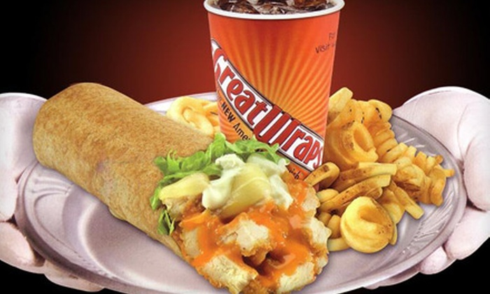 Great Wraps - River Mountain: $5 for $10 Worth of Wraps, Sides, and Smoothies at Great Wraps