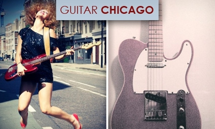 Guitar Chicago - Loop: $40 for Four 30-Minute Private Lessons at Guitar Chicago
