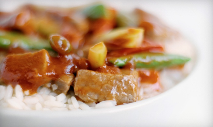 Mongolian Grill - Waterloo: Stir-Fry Lunch or Dinner for Two at Mongolian Grill (Up to 53% Off)