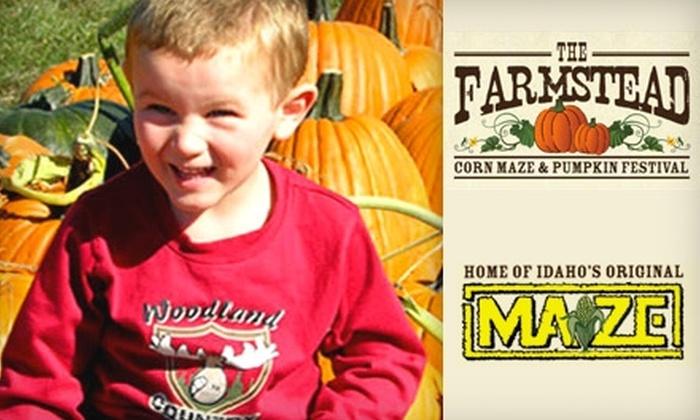 The Farmstead Corn Maze & Pumpkin Festival - Boise City: $5 for One Admission to The Farmstead Corn Maze & Pumpkin Festival (Up to $10 Value)