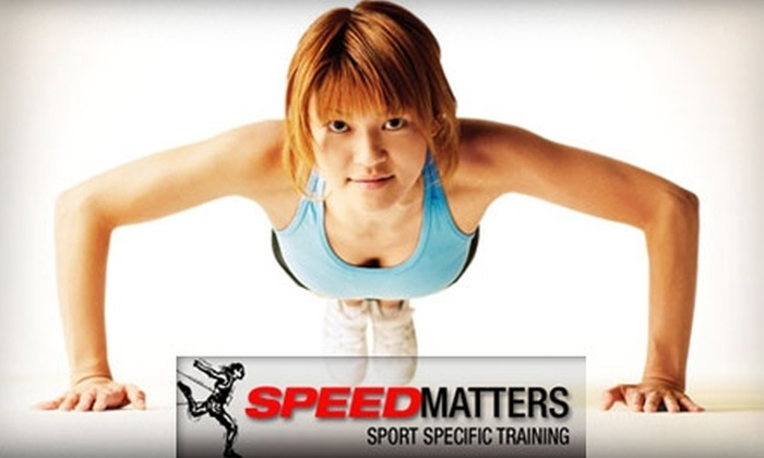 SpeedMatters - Multiple Locations: $69 for a 15-Class Women's Fitness Boot Camp from SpeedMatters (Up to a $149 Value)
