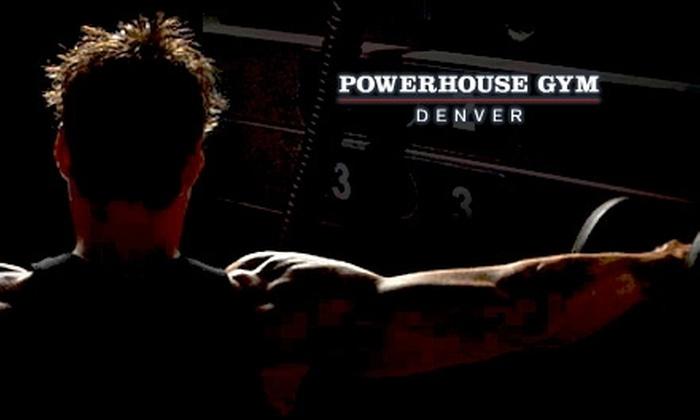 Powerhouse Gym Denver - Washington Park West: $49 for One Month of Unlimited Membership Plus Fitness Orientation at Powerhouse Gym Denver