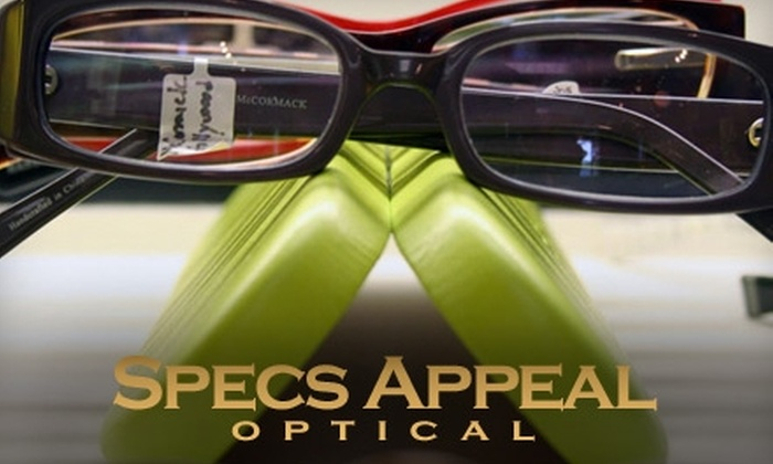 Specs Appeal Optical - Kendall: $50 for $250 Toward Prescription Eyewear, Plus Half Off an Eye Exam at Specs Appeal Optical