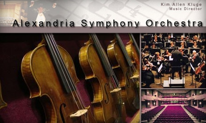 Alexandria Symphony Orchestra - Alexandria West: $35 for One Ticket to All-Beethoven Valentine's Day Weekend at the Alexandria Symphony Orchestra ($70 Value). Buy Here for February 13 at 8 p.m. See Below for Additional Dates and Concerts.