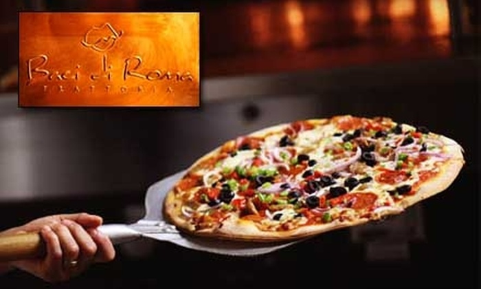Baci di Roma Trattoria - Huntington Beach: $15 for $30 Worth of Italian Cuisine and Drinks at Baci di Roma Trattoria