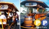 Pedal Party - Houston: $60 for a One-Hour Rental of a 16-Person Pedal Bike