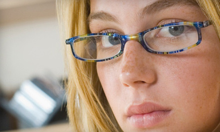 Erker's Fine Eyewear - Multiple Locations: $40 for an Eyeglasses Exam and $200 Worth of Prescription Eyewear at Erker's Fine Eyewear ($319 Value)